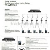 Promotional Wireless Simultaneous Interpretation Equipment
