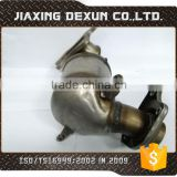 OEM best price three way catalytic converter, manifold exhaust pipe auto parts