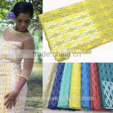 gold color african net lace fabric with stones high quality lace fabric dubai