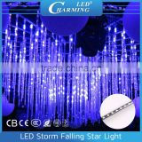 Fashion Decoration Crystal Madrix LED Tube Meteor Light Chandelier For Banquet Hall