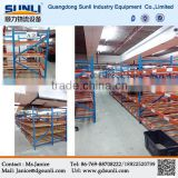Dongguan Manufacturers Hot Selling Trays Carton Gravity Flow Storage Metal Material Shelf