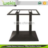 Custom highest quality outdoor aluminum folding table durable and stable metal folding table leg