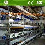 Automatic battery design hot galvanized chicken cage for broilers and baby chicks