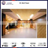 3d decorative wallpaper bamboo panel for wall covering 3d wall panel