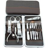 12 in 1 set Nail Tools,Mini Manicure Kit, Stainless Steel Toe Nail Cutter&Professional Cuticle Nipper