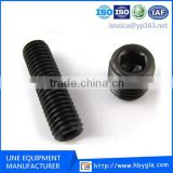 Grade 8.8/12.9 DIN913 hex socket head set screw/Hexagon socket set screws with flat point/china free samples fastener
