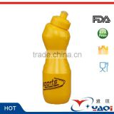 Bpa Free Pe Hdpe 500ml 600ml 750ml 700ml Gym Outdoor Sports Protein Shaker Plastic Water Bottle Wholesale Supplier
