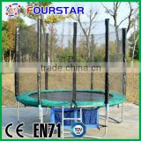 Fourstar 8FT cheap gymnastic bungee trampoline bed bodi build fitness game for adultsand KIds