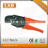carbon steel hand crimping tool LS-04WFL for crimp 0.5-4mm2 wire end ferrules CE;ROHS certificate rachet crimping plier