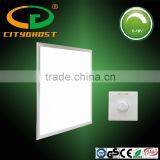 Plaster false ceiling recessed 9mm super thin 600x600mm 30W 1-10V dimmable led flat light