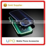 [UPO] Metal Bumper Aluminum green blue Graduate Color Mirror Case for Samsung Galaxy s7, wholesale cell phone accessories