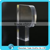 Plexiglass paperweight letter block wholesale transparent block