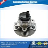 automobile Wheel hub bearing Front Axle RIGHT RWD for TOYOTA LEXUS LS460 43550-50040/4355050040