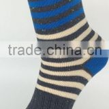 Men socks made of pure cotton Striped socks restoring ancient ways the socks wholesale teen tube socks china socks factory