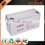 150ah china manufacturer 12V sealed hot selling 12v AGM battery