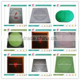 Hunan Timelion FRP Circular Cover with Square Outside Manhole Cover for Sewage System RM384