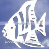 2014 New Design Laser Cut Metal Christmas Ornament