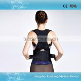 high quality orthopedic back and shoulders support belt back brace to correct posture