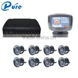 Three step BiBiBi alarm sound parking lot sensor system/beeping buzzer parking sensor/car detection ultrasonic sensor