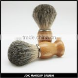 Best Sell Cheap bamboo beard custom Shaving brush men' shaving barber badger brush set