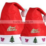 Adult Children Christmas Hats Plush Cap Santa Claus Hat Toys