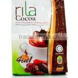Energy Health Chocolate Drink vol 1 kg Health Fiber Drink Wholesale and Bulk Supply RILA COCOA Chocolate Drink 1kg Pouch Bag