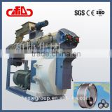 Drive with gear box cattle feed granulator mill machine