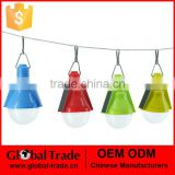 Outdoor Solar Lamps Solar Camping Lantern 2LED Lighting Bulb Solar Hanging Lights G0104