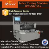Boway service NIC32A Electrical book edge Index Tab Cutting Machine