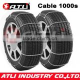 Quick mounting 1000S Cable tire chain for car