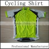 Quality thin materials BMX jersey/sublimated cycling wear