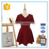 Korean Short Umbrella Dresses New Fashion Ladies New Model Dress