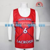 top quality dry fit cheap sublimation custom box lacrosse jerseys design