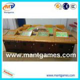 Solid wood high quality 10 players electric super rich man roulette machine with bill acceptor