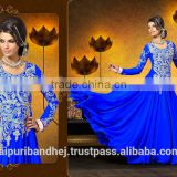 Ladies Neck Designs Salwar Kameez Bollywood Dress Anarkali Suit Pakistani Salwar Kameez Suit