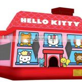 inflatable hello kitty bounce house,party jumper, inflatable kids air jumper NB041