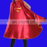 Fancy women's Polyester Satin Supergirl Cape