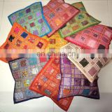 Patchwork Decor Pillow Cases Covers 16 Embroidered Ethnic decorative Vintage cases art Indian Cushion Cover Embroidery wholesale