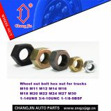 Bolt nut truck hex nut for trucks