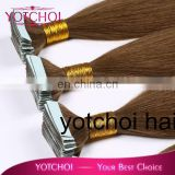 Alibaba gold supplier quality guaranteed 26 inches tape human hair extensions