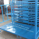 Tire Storage Rack with Tin Floor