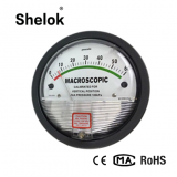 Micro differential pressure gauge manometer price with visual alert