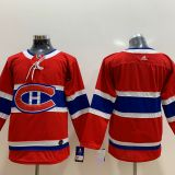 Montreal Canadiens Blank Kids Red Jersey