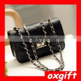 OXGIFT Wholesale fashion new handbags small fragrant wind Lingge chain handbag shoulder bag diagonal small bag
