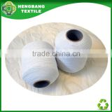 HB778 China ecru color undyed latex elastic sock yarn in stock factory