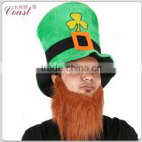 cheap st patricks day green hat with beard Image