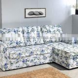 European Style Fabric Home Corner Sofa Bed Set Furniture                                                                                                         Supplier's Choice