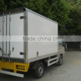 2015 good quality 1 ton mini freezer trucks for sale foton van refrigeration units