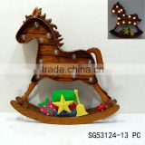 christmas decoration rocking horse
