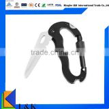 portable multifunction stainless steel carabiner hook, multi tool                                                                         Quality Choice